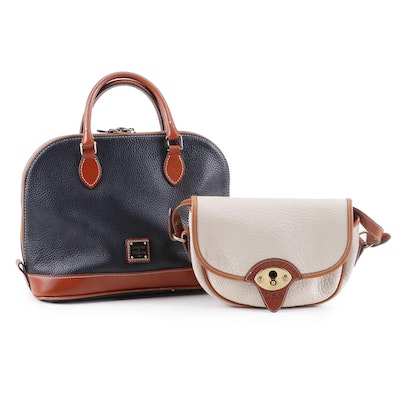 Dooney & Bourke All-Weather Leather Convertible Handbag and Crossbody Bag