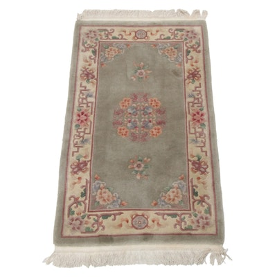 Hand-Knotted Chinese Wool Rug