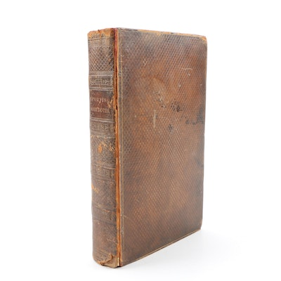 "1804 First Edition ""Sporting Anecdotes"" by An Amateur Sportsman"