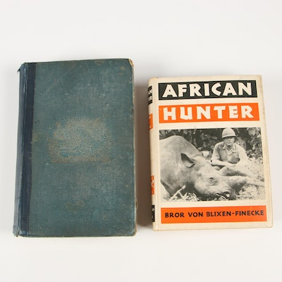 "First Editions ""African Hunter"" and ""Exploration and Hunting in Central Africa"""