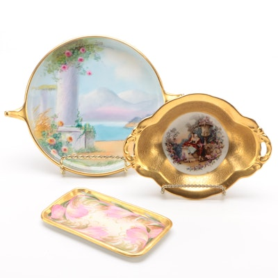 Pickard Hand-Painted Porcelain Tableware, Early 20th Century