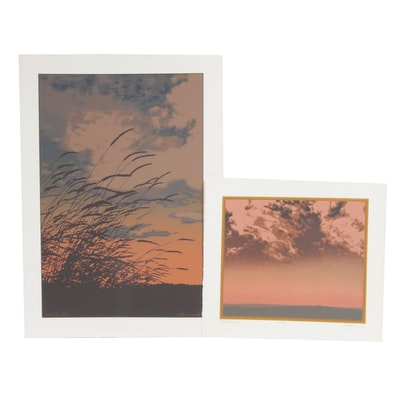 "Oren Johnson Serigraphs ""Solace II"" and ""Cloud Chase"""