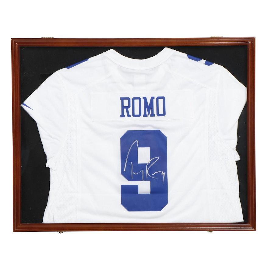 on sale 4dac6 1e229 Tony Romo Autographed Dallas Cowboys Football Jersey