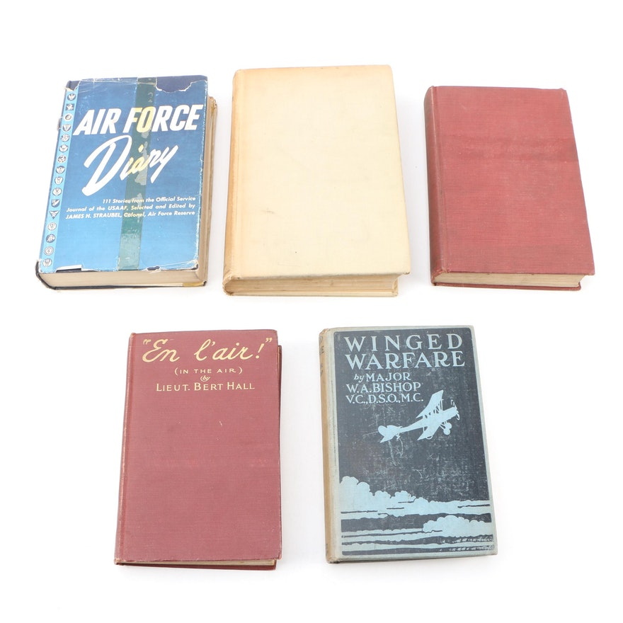 Vintage Books on Wartime Aviators
