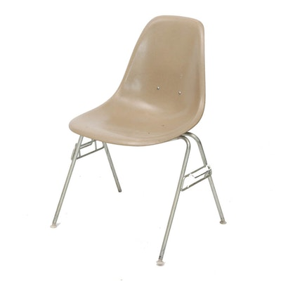 Eames for Herman Miller Fiberglass Shell Chair, Mid-Century