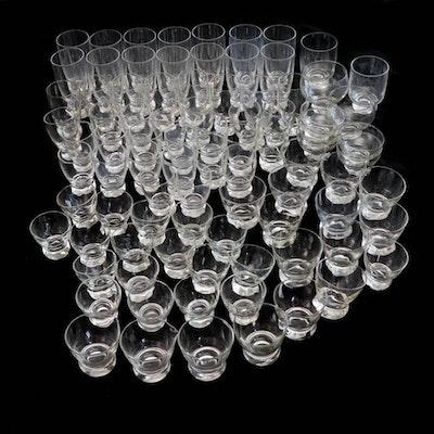 Eva Zeisel Glass Drinkware, Mid-Century