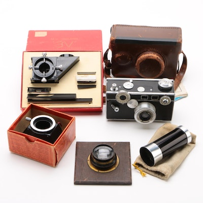 Argus C-2 Camera, 3-V Tri-Vision Special Effects Photography Tool, and More