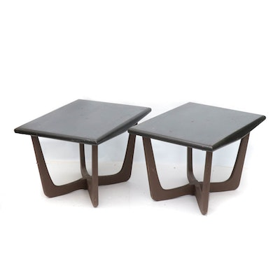 Mid Century Modern Side Tables in the Style of Adrian Pearsall