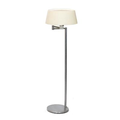 Lightolier Swivel Neck Floor Lamp, Mid-Century