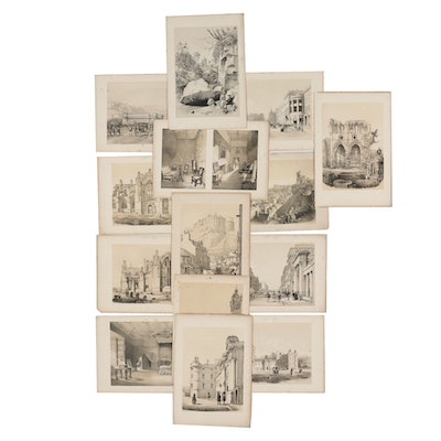 Late 19th Century Lithographs after Samuel D. Swarbreck