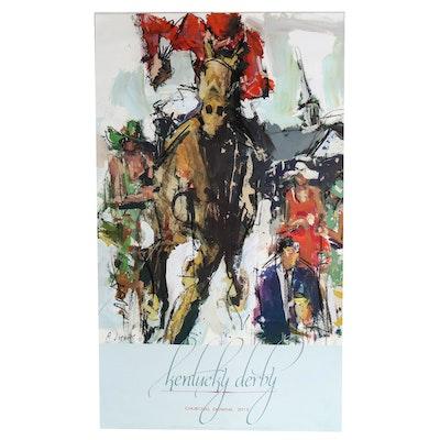 "Robert Joyner 2012 Kentucky Derby Poster ""Against the Odds"""