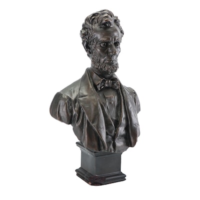 """Gotham Co. Replica Bust of George Bissell """"Abraham Lincoln"""""""