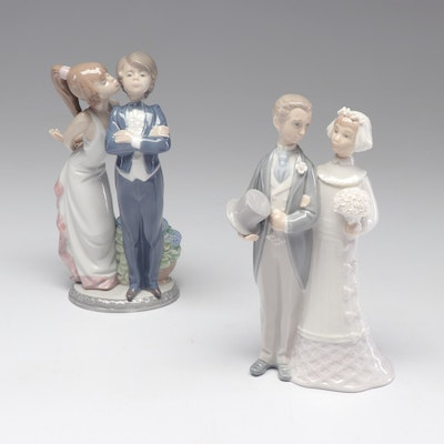 Two Lladró Wedding Figurines