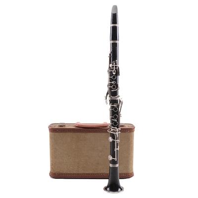 Cundy-Bettoney Co. Three Star Clarinet, Vintage