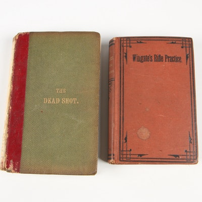 "Antique ""The Dead Shot"" and ""Manual for Rifle Practice"""