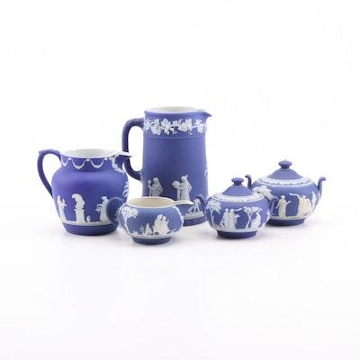 Wedgwood Jasperware Tea And Coffee Set