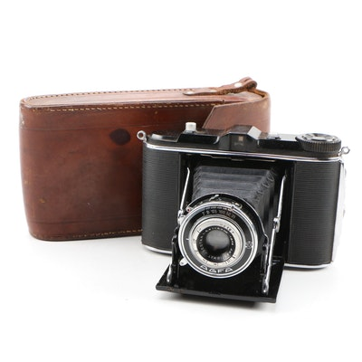 "Agfa ""Jsolette"" Horizontal Folding Camera, 1937"