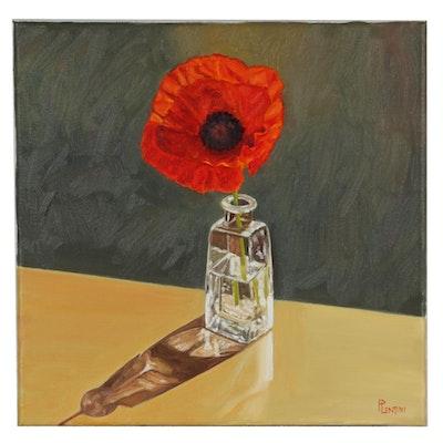 "Peter Lentini Oil Painting ""Orientale"""