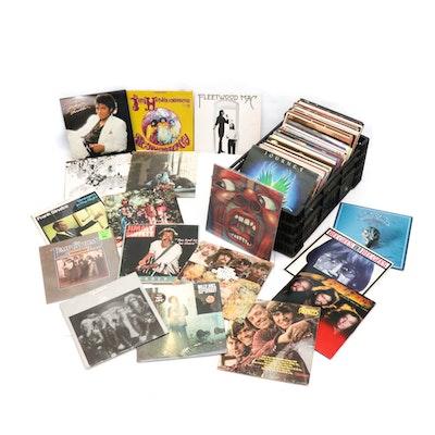Vintage Records by Jimi Hendrix, Michael Jackson, Fleetwood Mac, Phil Collins