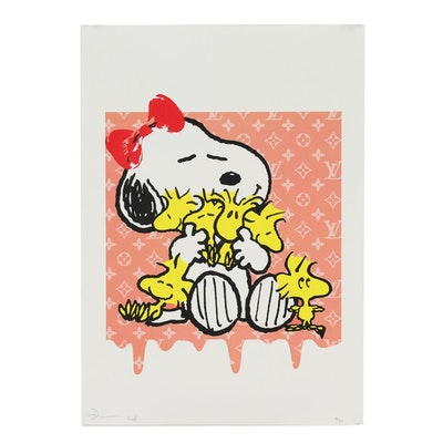 Death NYC Graphic Print of Snoopy