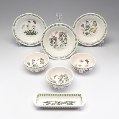"Susan Williams-Ellis ""Botanic Garden"" Bowls and Cracker Tray by Portmeirion"