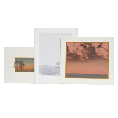 "Oren Johnson Serigraphs ""Cloud Chase"", ""Evening Song"", and ""The Rest"""