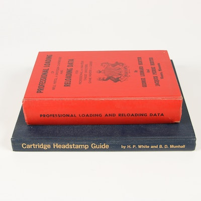 "1963 ""Cartridge Headstamp Guide"" and ""Professional Loading and Reloading Data"""