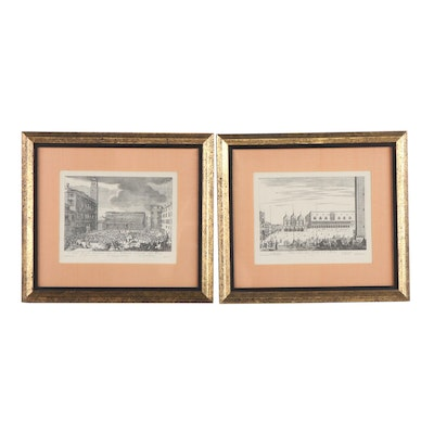 Venetian Engravings Including Work After Carlo Zucchi