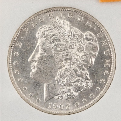 Encapsulated 1902-O Morgan Silver Dollar