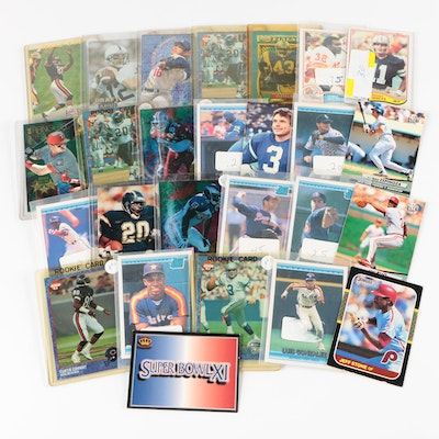Baseball and Football Trading Cards, 1980s and 1990s