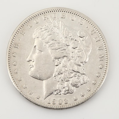 Key Date 1903-S Morgan Silver Dollar