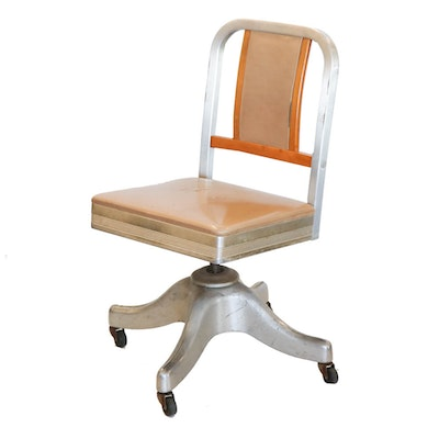 Shaw-Walker Office Chair, Mid-20th Century