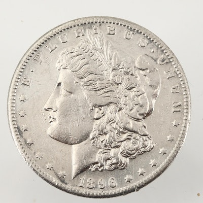 Better Date 1896-S Morgan Silver Dollar