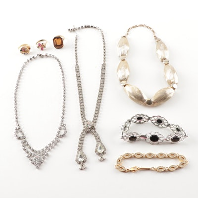 Fashion Jewelry Grouping Including Coro
