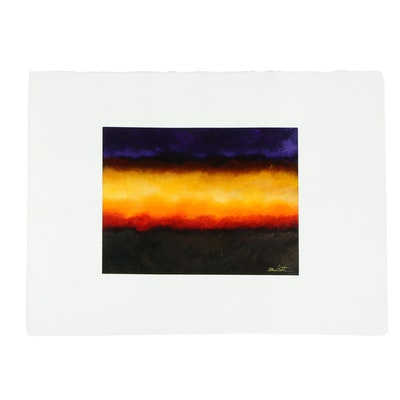 Dave Easter Contemporary Landscape Oil Painting