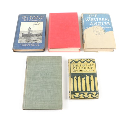 "First Edition ""The Book of the Tarpon"" with Other Fishing Books"