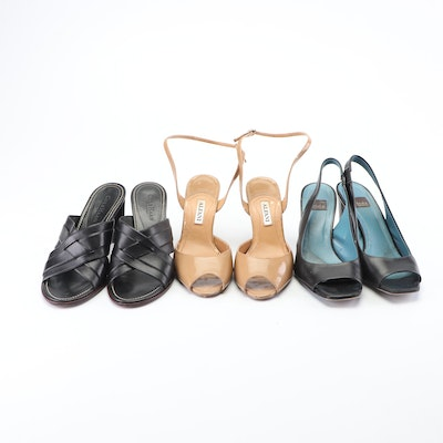 Alfani, Biala and Cole Haan Country Leather Mules, Slingbacks, and Wedges