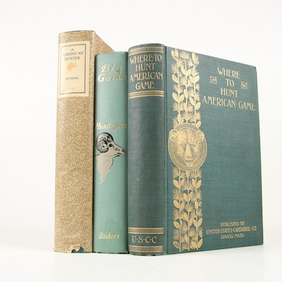 "First British Edition ""Our Big Game"" by Huntington with Other Early Editions"