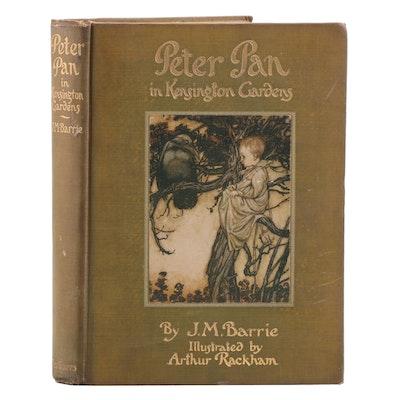 "1910 Arthur Rackham Illustrated ""Peter Pan in Kensington Gardens"""