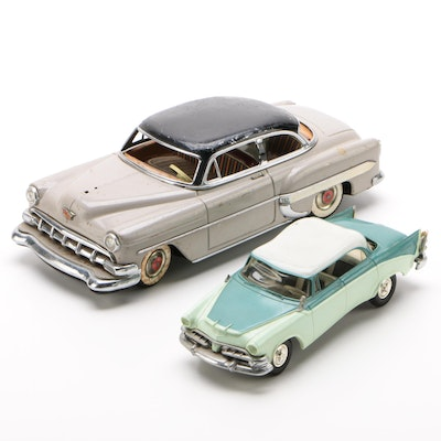 Dodge Lancer Custom Royal and Chevrolet Bel Air Model Cars, 1950's