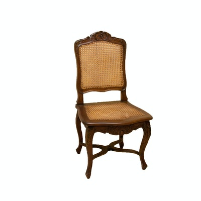 French Provincial Cane-Backed Chair