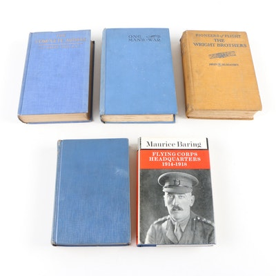 "Vintage Aviation Books featuring ""One Man's War"""