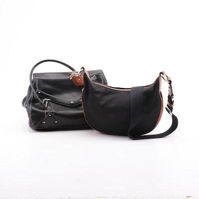 Lauren by Ralph Lauren and Cole Haan Leather and Textile Handbags