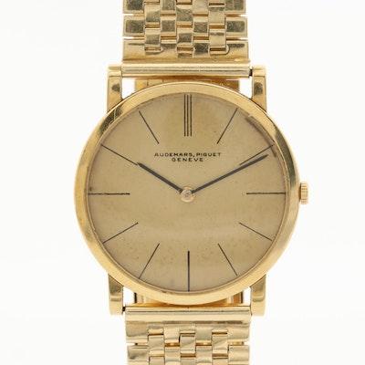 Audemars - Piguet Slim 18K and 14K Yellow Gold Wristwatch