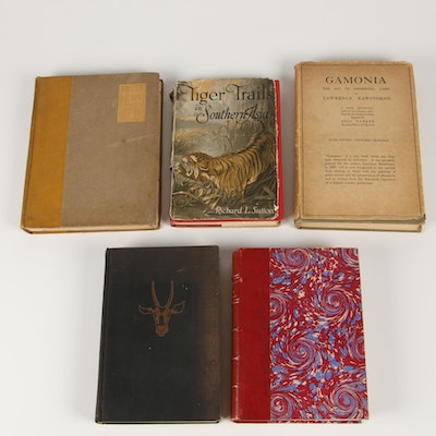 """Gamonia"" by L. Rawstorne with More Vintage Hunting Books"