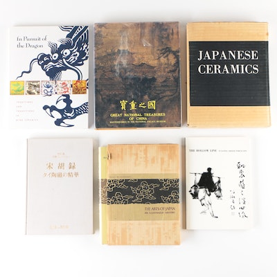 """Japanese, Chinese, and Thai Art Books including """"In Pursuit of the Dragon"""""""