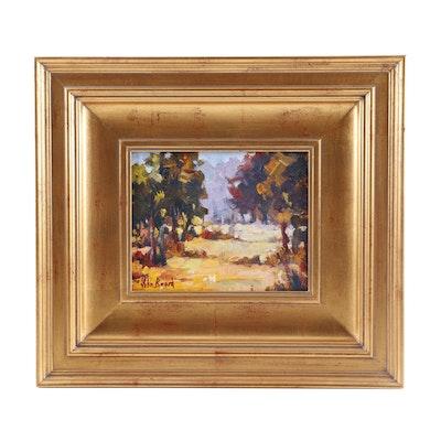 John Beard Landscape Oil Painting