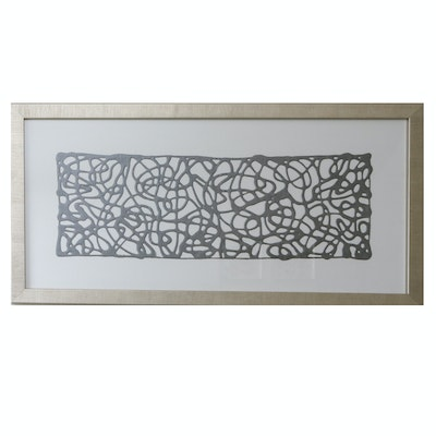 Decorative Framed Wall Hanging