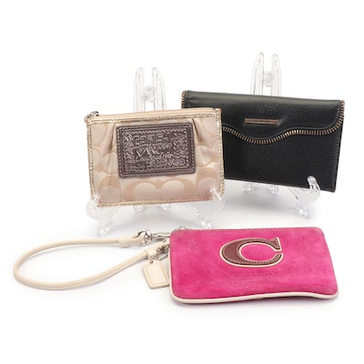 Coach Wallet and Wristlet with Rebecca Minkoff Smart Phone Case Folio