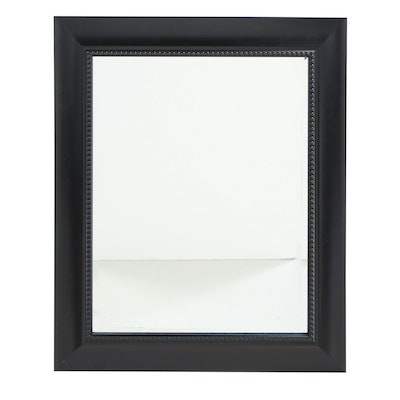 Contemporary Ebonized Mirror